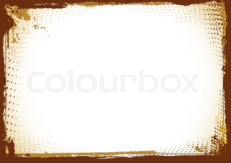 Frame in grunge style. Vector | Stock vector | Colourbox