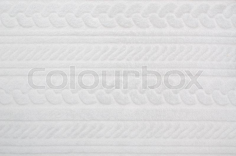 Soft Blanket Texture On White Blanket Close Up Texture Or Background Background White Fabric Swatch Soft Design Concept Stock Photo Colourbox