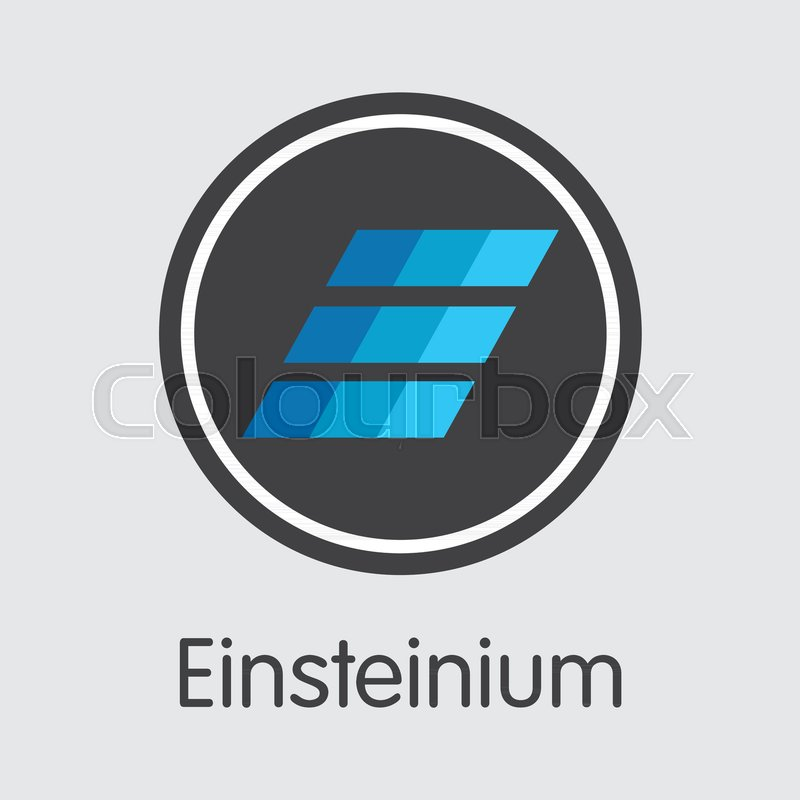 Einsteinium Blockchain Symbol Blockchain Block Distribution Emc2