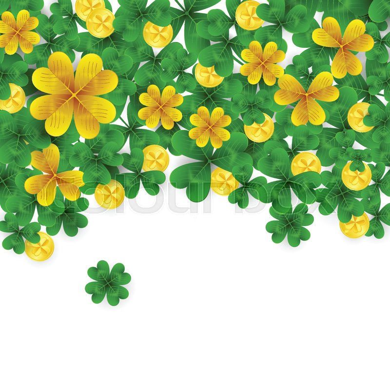 Saint Patrick S Day Border With Green