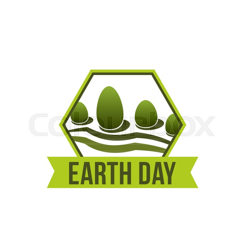 Earth Day Icon For Environment Protection Of 22 April World Ecology