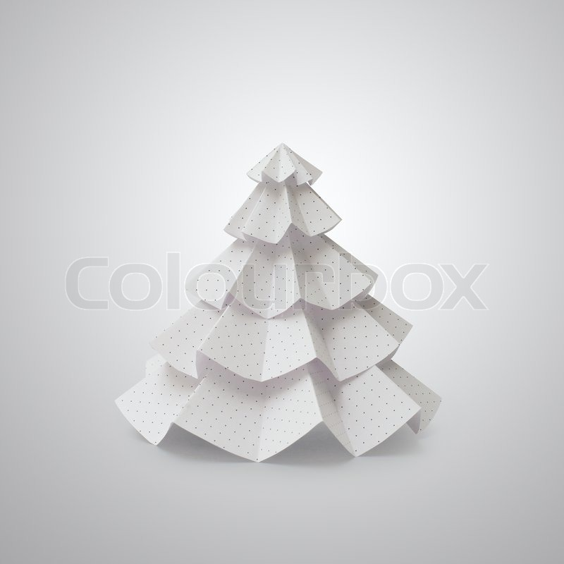 Handmade Christmas Tree Cut Out From