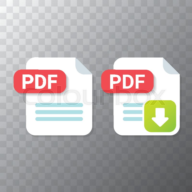 Pdf Icon Transparent Background