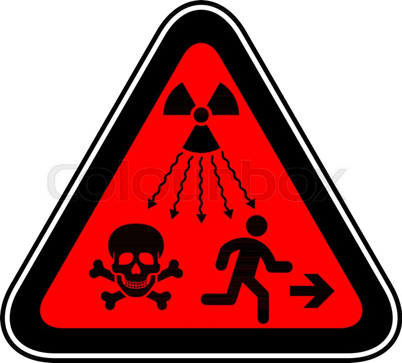 New Iso Standard Ionizing Radiation Warning Supplementary Symbol