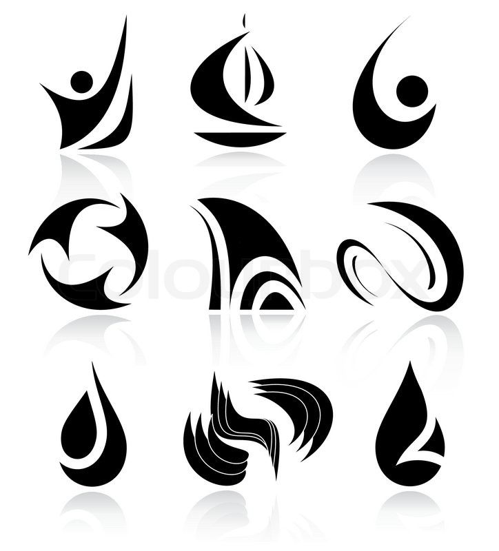 Other Abstract Icons You Can See In My Stock Vector