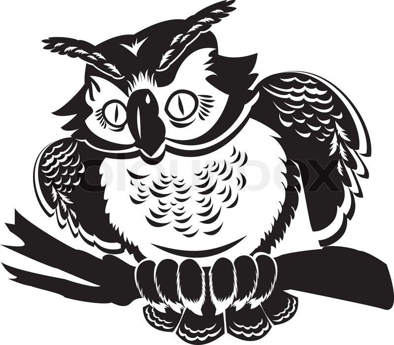 Картинка сова магистр