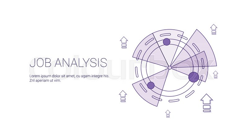Job analysis business template web banner with copy space vector illustration stock vector colourbox job analysis business template web banner with copy space vector illustration vector ccuart Images