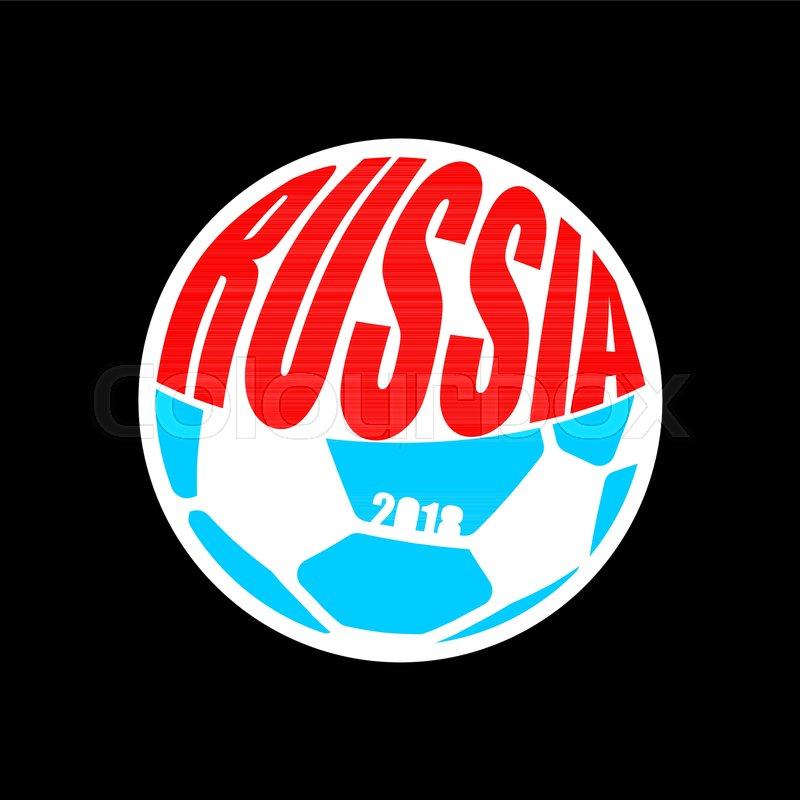 russian soccer ball emblem football championship in russia 2018