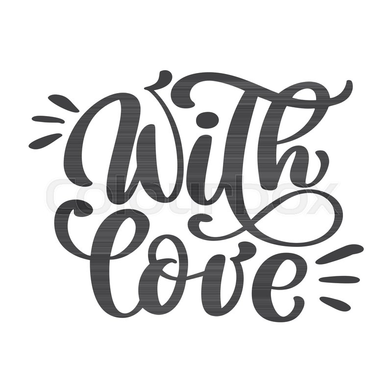 Handmade Calligraphy Vintage Vector Text On White Background Hand Lettering Typography Poster For Posters Greeting Cards Tag Home Decorations