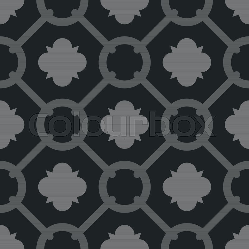 Tile Grey And Black Decorative Floor Tiles Vector Pattern Or