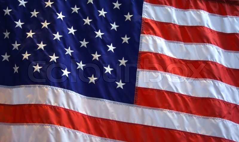 Patriotic American Flag Background With Stock Image Colourbox