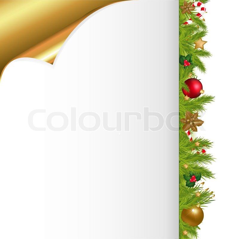 weihnachten und neujahr illustration mit silvester kugel. Black Bedroom Furniture Sets. Home Design Ideas