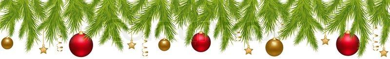 frohe weihnachten banner mit neujahrs kugeln sternen. Black Bedroom Furniture Sets. Home Design Ideas