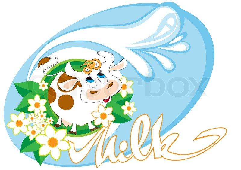 Milk Cow Vector Stock Vector of 39 Merry Cow