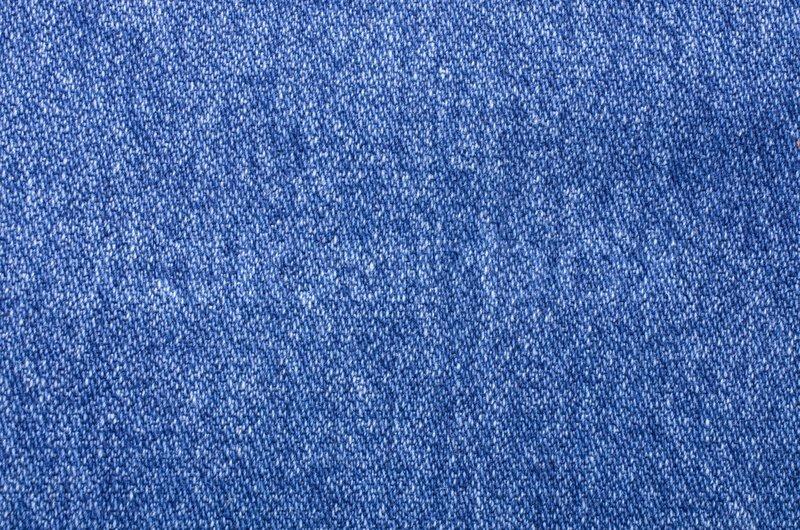 Worn Blue Denim Jeans Texture Stock Photo Colourbox