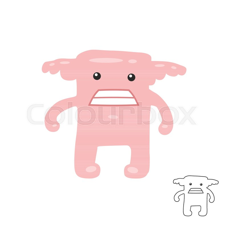 Colorful Toy Monster Cute Alien Monster Monster Icon Monsters