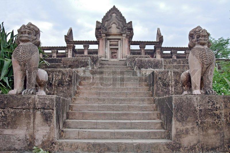 Prasat Phra Wihan Preah Vihear copies of temple in Ancient ...