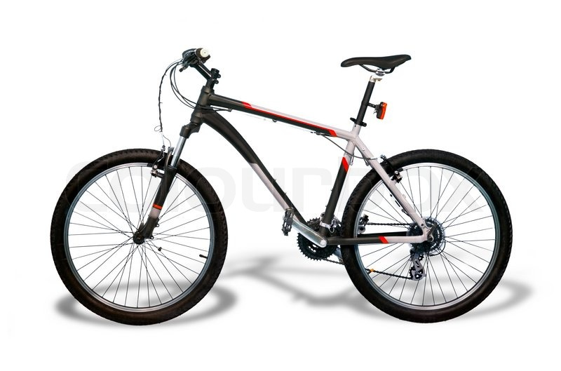 Mountain bicycle bike with shadow isolated on white background mountain bicycle bike with shadow isolated on white background stock photo colourbox voltagebd Image collections