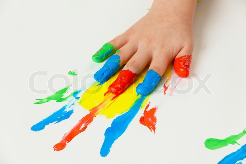 What Kind Of Paint To Use For Finger Painting