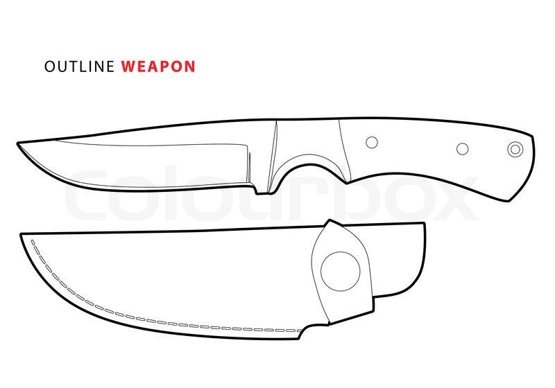 3183587-outline-vector-knife-on-white-background
