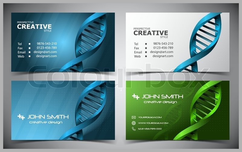 Vector abstract creative business cards set template stock vector vector abstract creative business cards set template stock vector colourbox reheart Images