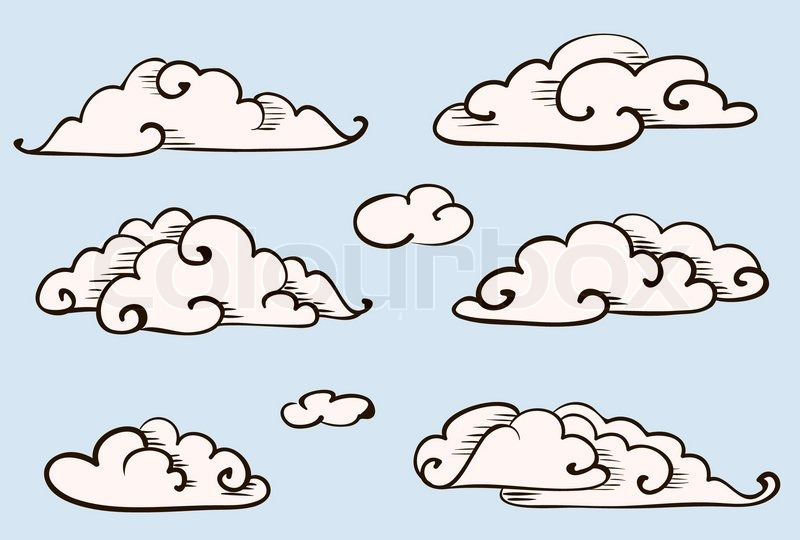 how to draw clouds in firealpaca