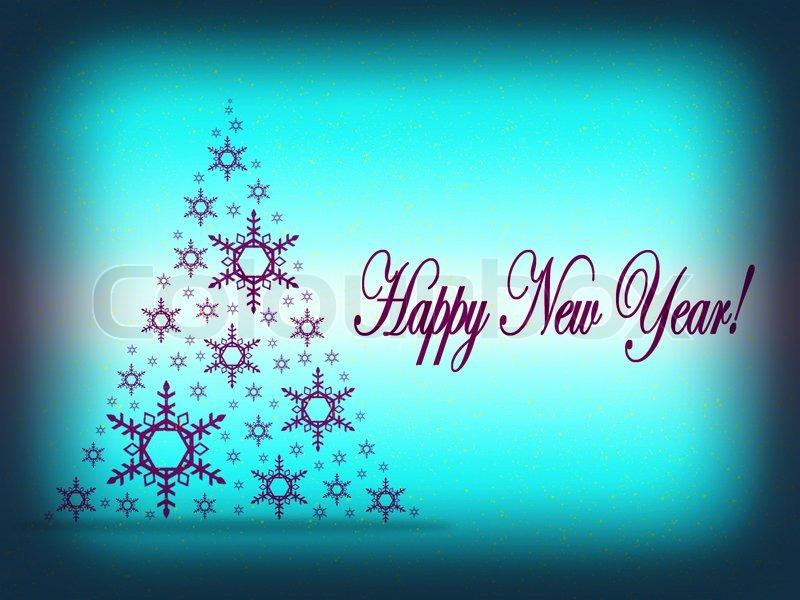New year card background zrom m4hsunfo