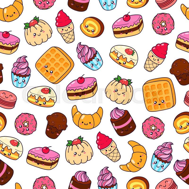 Set Of Vector Cartoon Doodle Icons Stock Vector Colourbox