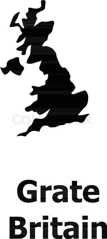 England Map Icon Simple Illustration Of Vector For Web