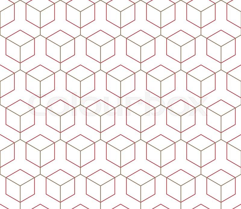 Muster, gewebe, design | Vektorgrafik | Colourbox
