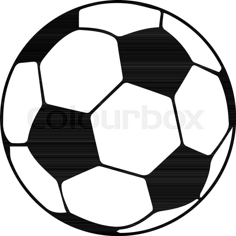 soccer ball icon simple illustration of soccer ball vector icon for rh colourbox com soccer ball vector drawing soccer ball vector art