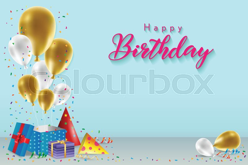 Happy Birthday Background Template ...