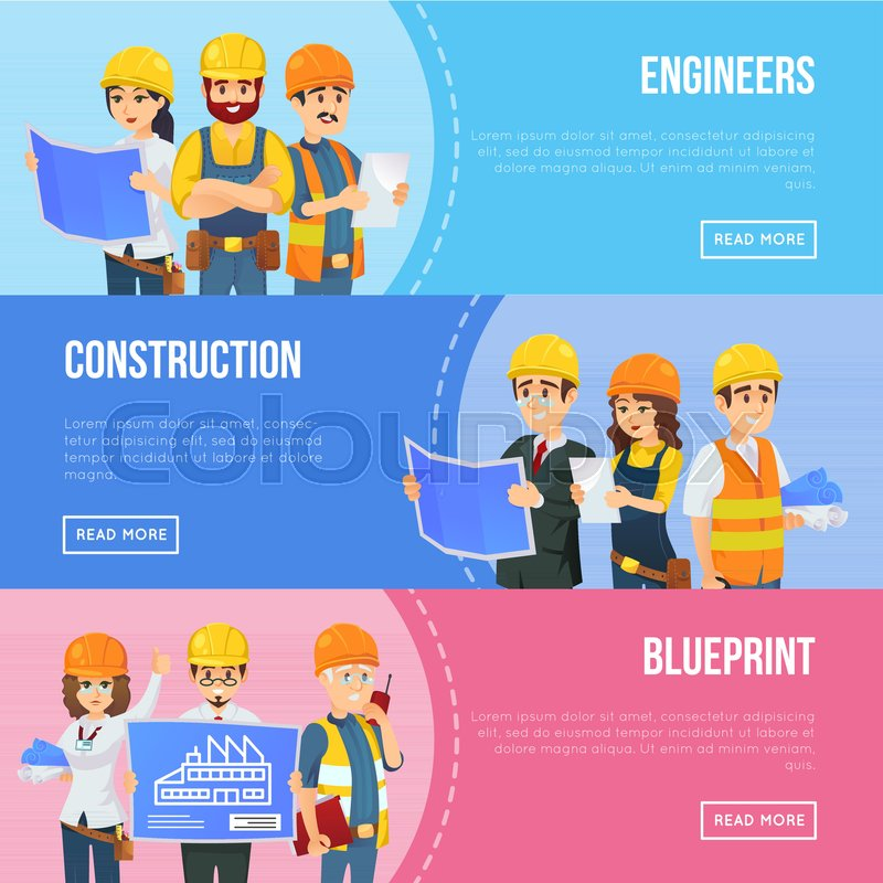 Foreman Builders Mail: Professional Engineering And Construction Concept With