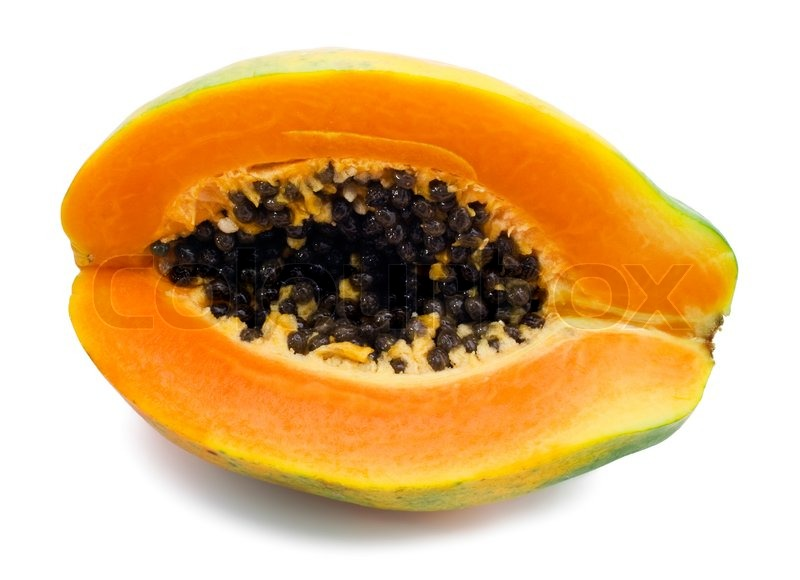 how to know when papaya fruit is ripe