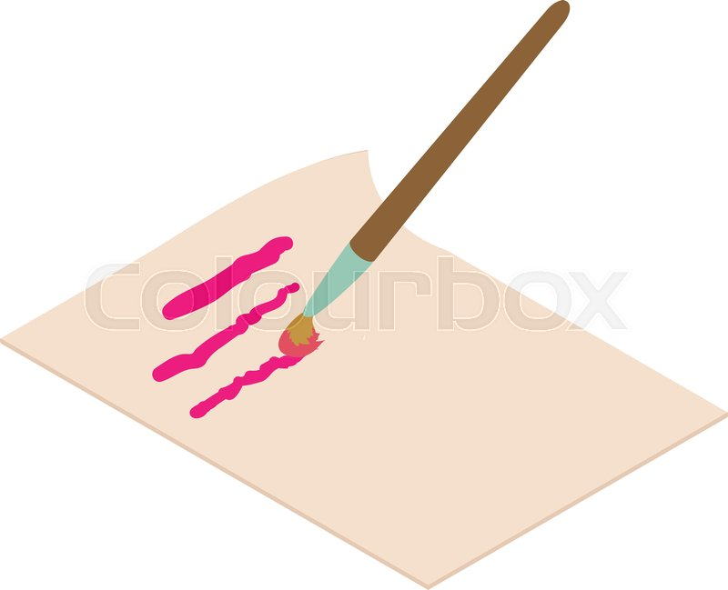 Write Letter Icon Isometric Illustration Of Write Letter Icon For