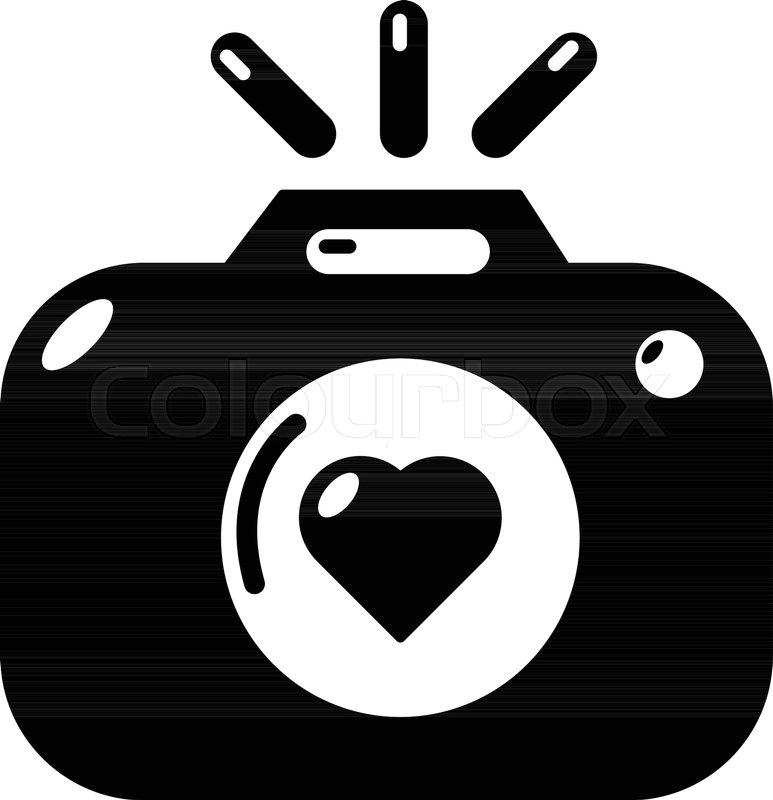 Wedding Photography Icon Simple Stock Vector Colourbox