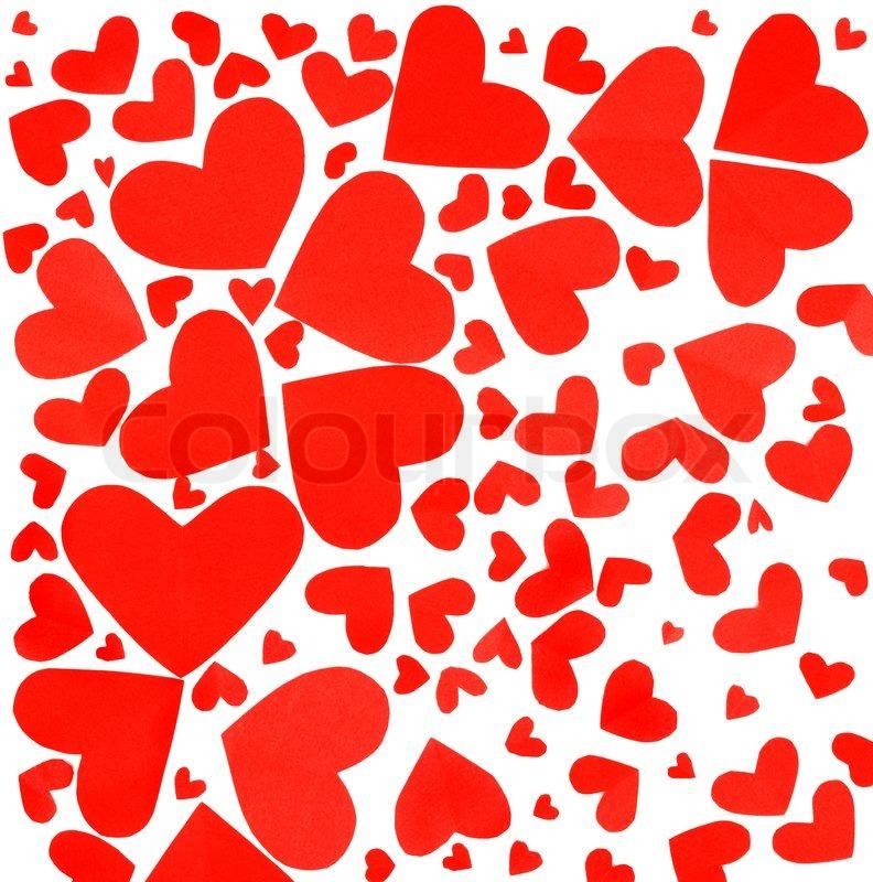 Image Of Many Hearts