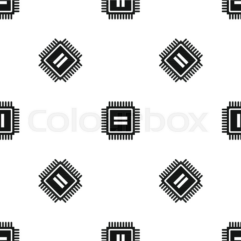 Electronic Circuit Board Pattern Stock Vector Colourbox