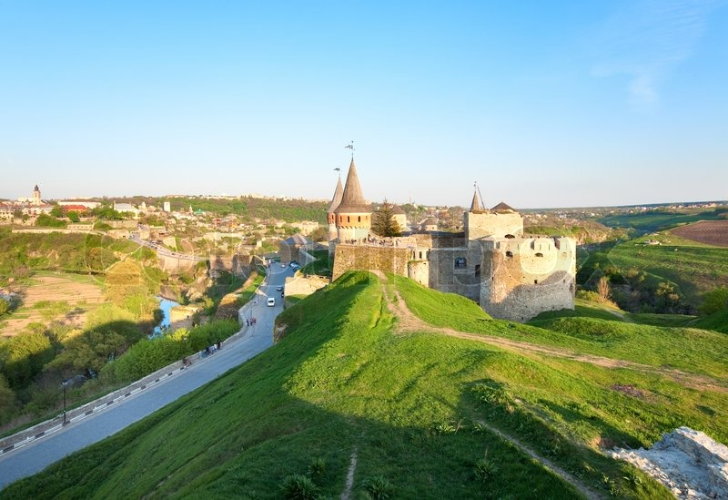 Is former polish castle that is one of the seven wonders of ukraine