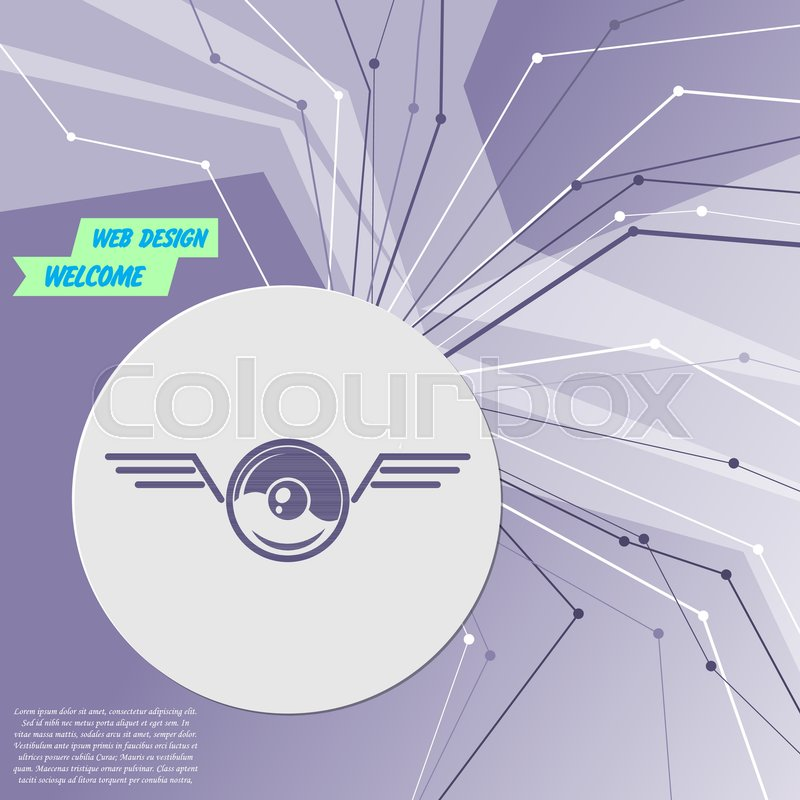 Pokeball for play in game icon on     | Stock vector | Colourbox