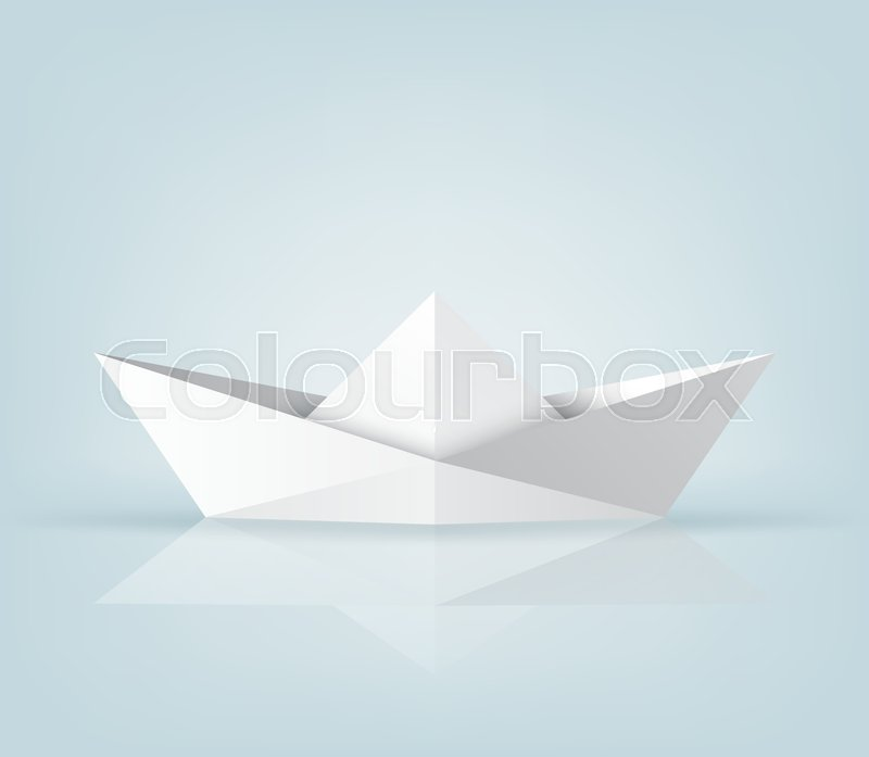 Origami Ship / Boat Photo Tutorial - Paper Kawaii | 697x800