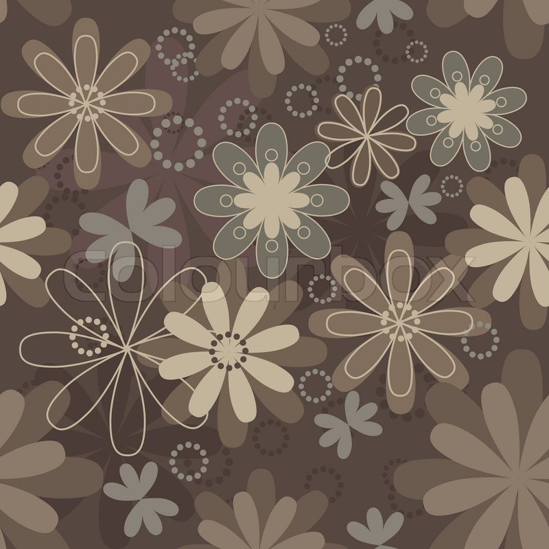 Pretty Cute Wallpaper Stock Vector Colourbox