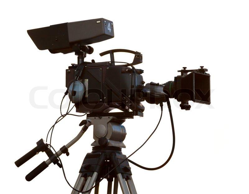 tv camera stock photo colourbox