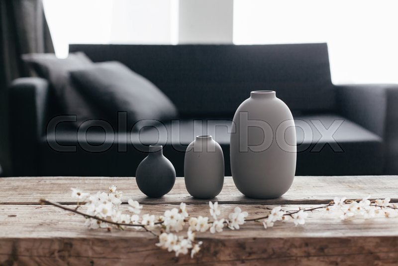 Minimalistic Home Decor On Rustic Stock Photo Colourbox