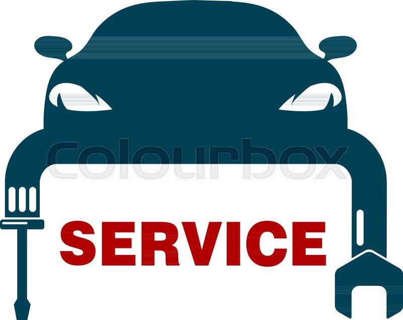 Car Workshop Repair Garage Auto Service Design Engine Check