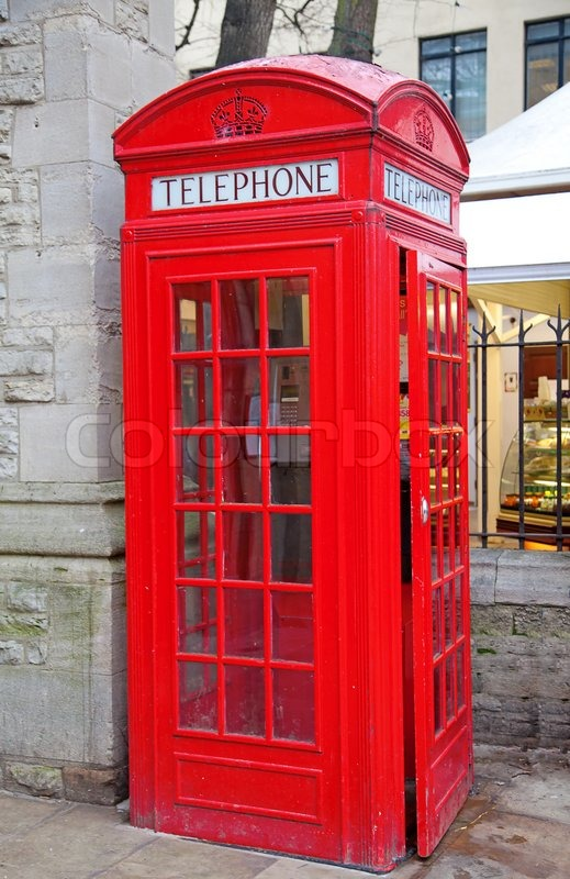 london telephone booth quotes