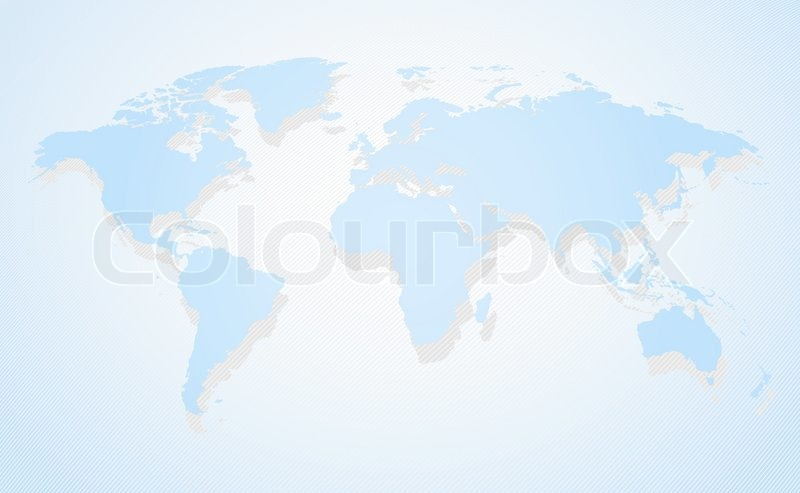 Blue business world map a perspective view and shadow stock vector blue business world map a perspective view and shadow stock vector colourbox gumiabroncs Choice Image