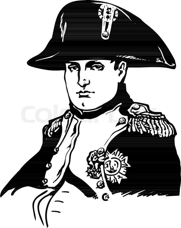 a849d79be96 Napoleon Bonaparte.Black and white ...