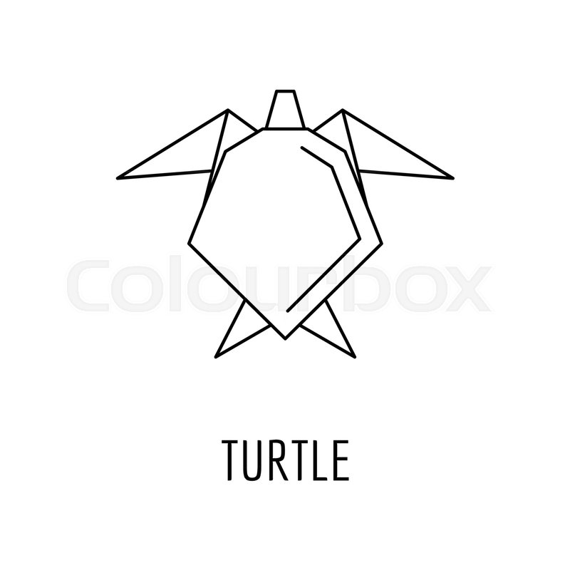 Origami Turtle Instructions and Diagram | 800x800