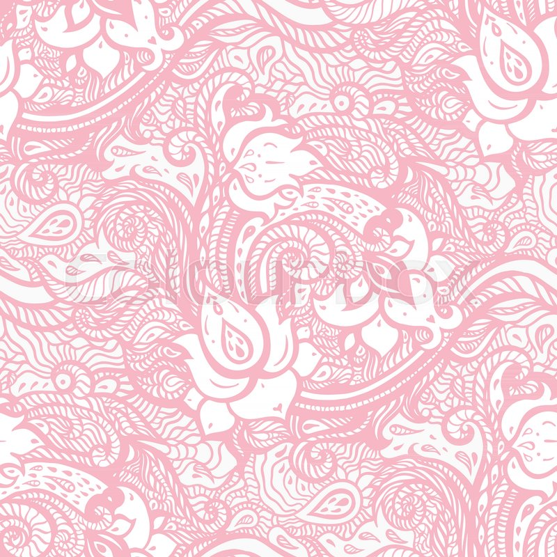 vintage floral pink background stock vector colourbox vintage floral pink background